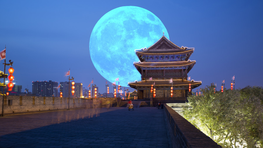 Chinese City Mulls Launching Artificial Moon In Space