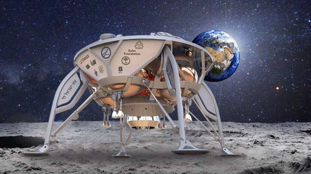 Israel And NASA Team Up To Transit Spider-Like Designed Spacecraft To Moon