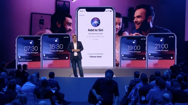 iOS Philips Hue App Upgraded With Support For Siri Shortcuts
