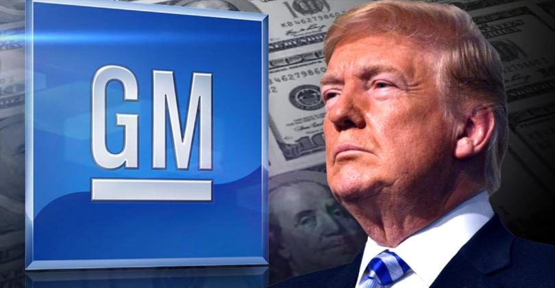 Trump Cautions GM Will Not Be Treated Well Since Plant Closures